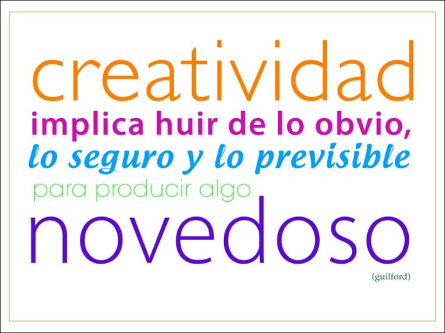 Sé Creativo